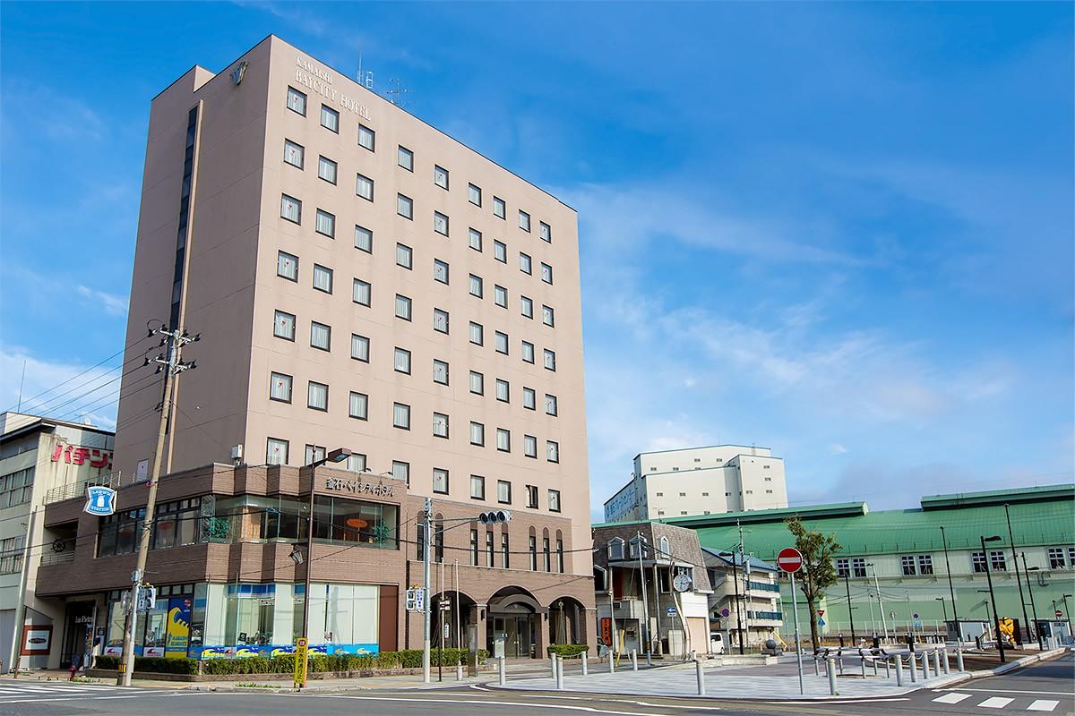 釜石ベイシティホテル 外観