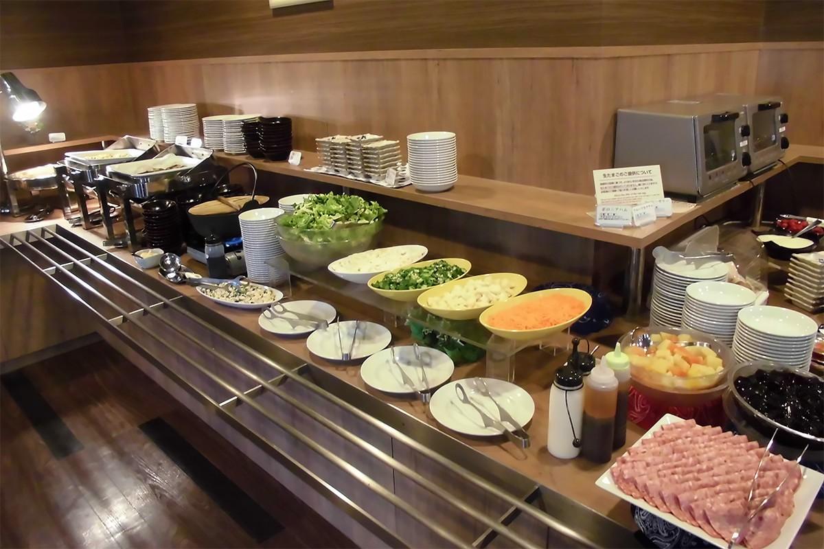 ホテルルートイン釜石 朝食