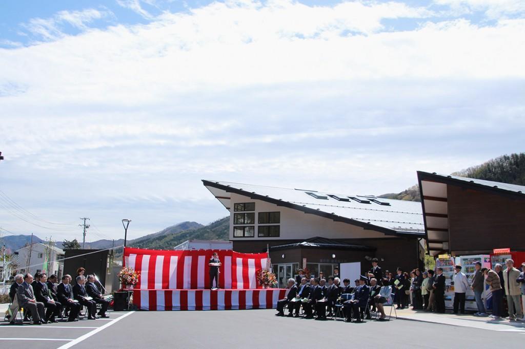 道の駅釜石仙人峠オープン