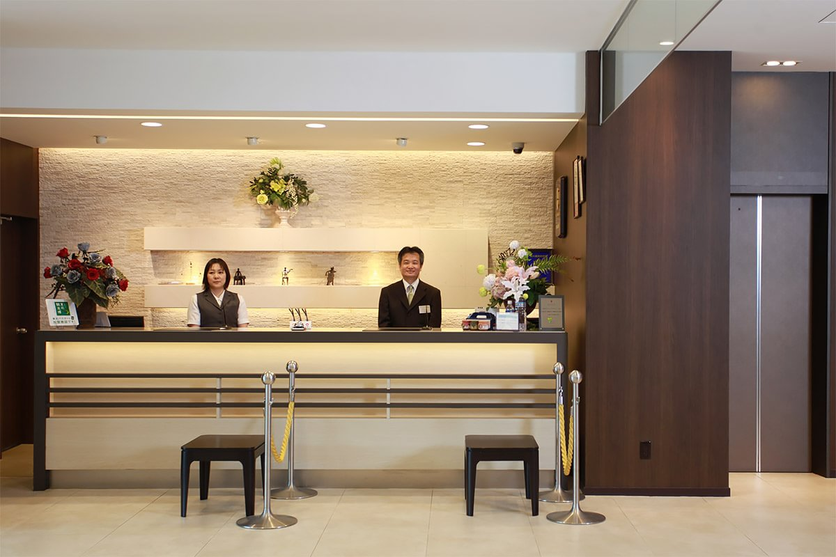 ホテルサンルート釜石 フロント