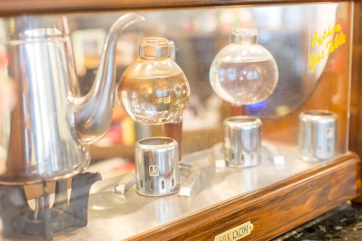 喫茶あいどる コーヒーメーカー