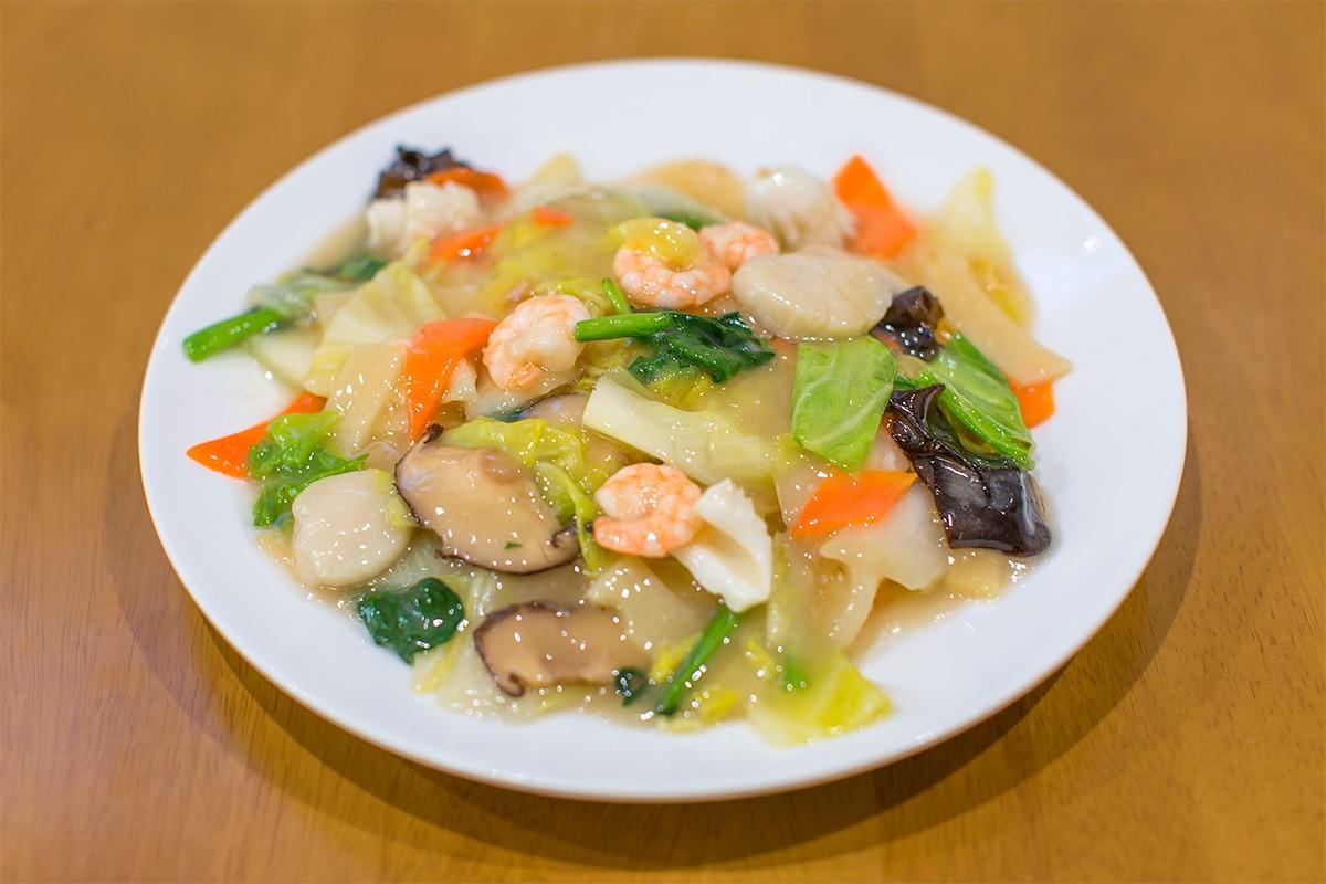 喜久舎 塩麹海鮮炒麺