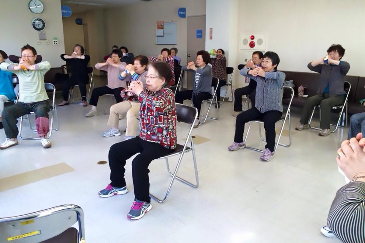 健康体操自主グループほっぷすてっぷの会