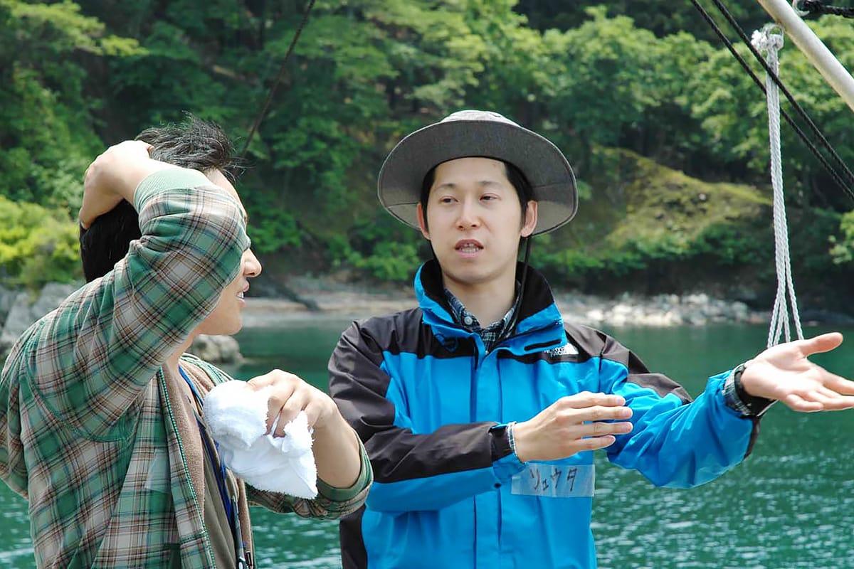 「尾崎半島を訪れる人も地域住民も互いに力を得る活動をしたい」と話す久保代表