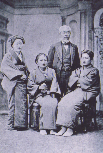 大島高任 家族写真