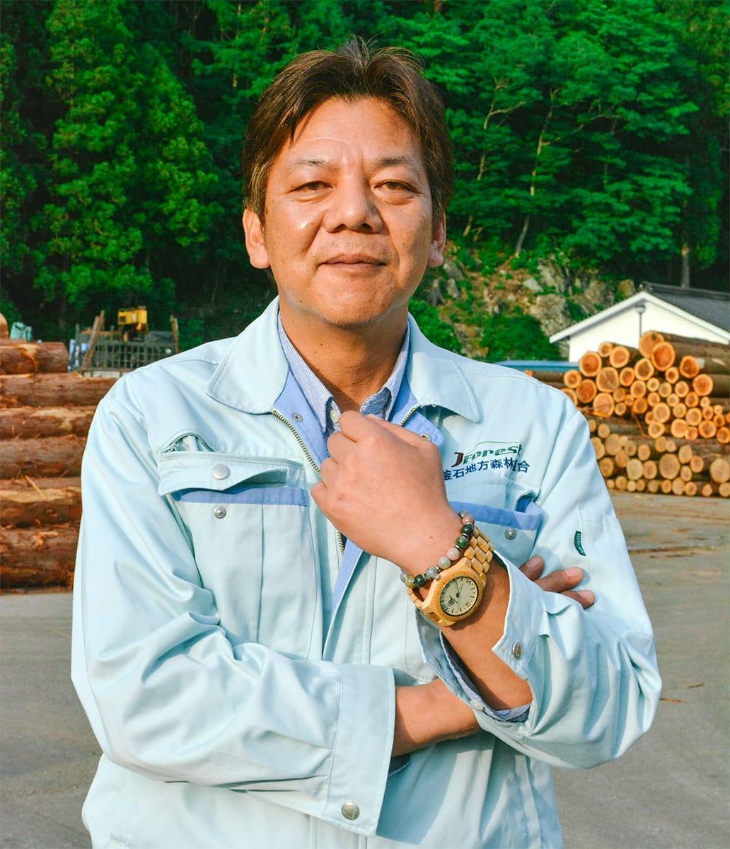 釜石地方森林組合参事 高橋幸男さん