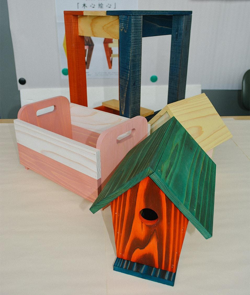 地元のスギでつくる! 木工教室 in釜石地方森林組合
