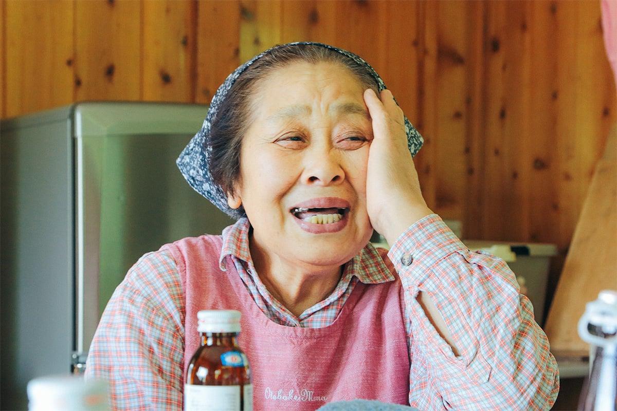 山のお母さん重子さん
