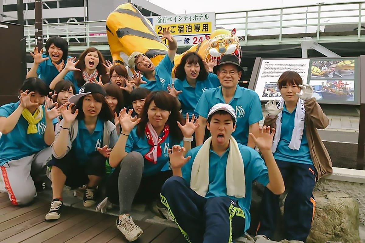 北海道の元気な大学生