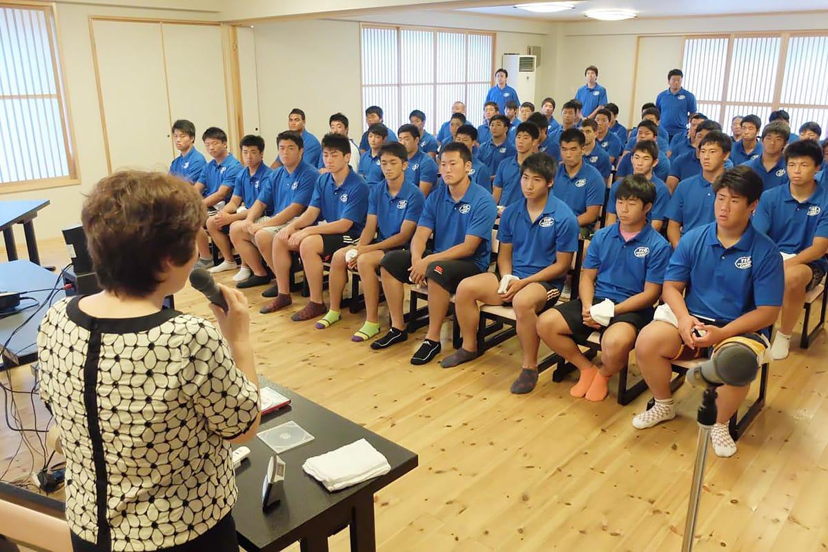 ラグビー高校日本代表候補生