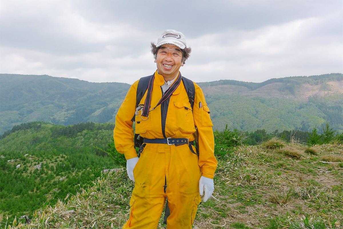 橋野の自然と歴史の案内人 三浦勉さん