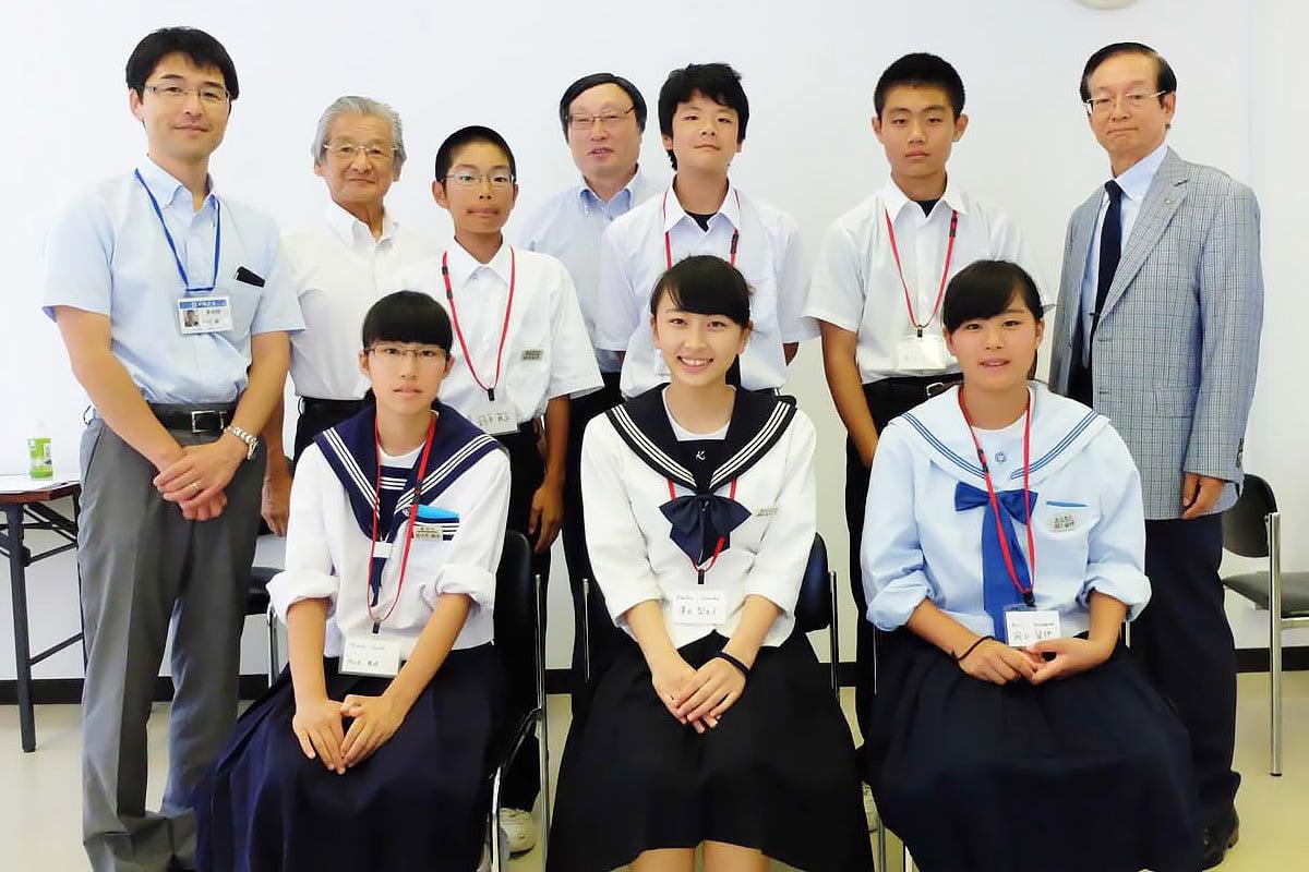 釜石東RCが実施する派遣事業のメンバーに決定した6人