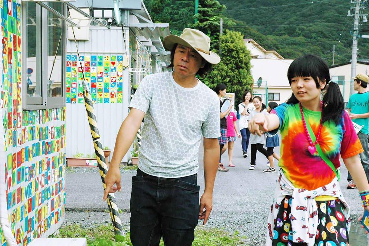 寺崎幸季さんと日比野克彦さん