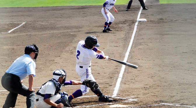 3番大尻悠矢が右前打を放ち2点を先制