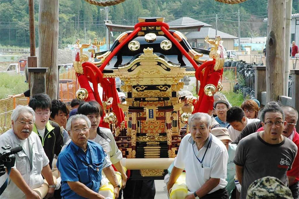 鵜住居神社みこし復活