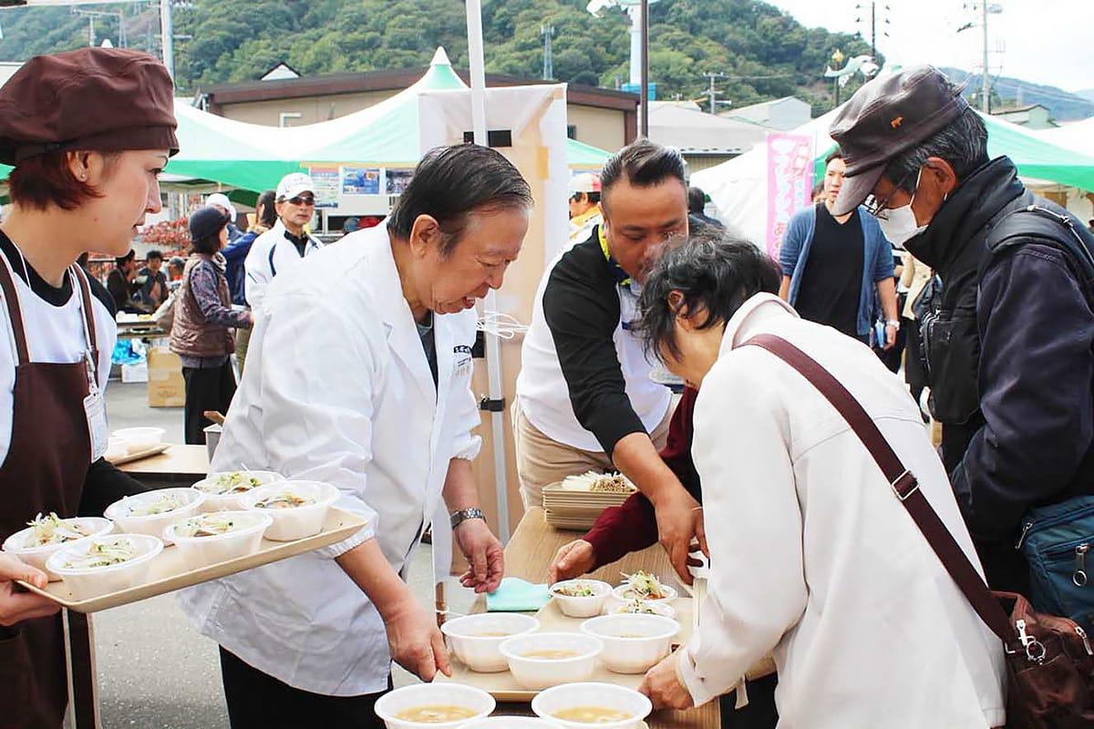 震災後、炊き出しで釜石に思いを寄せ続けてきた中村孝明さん
