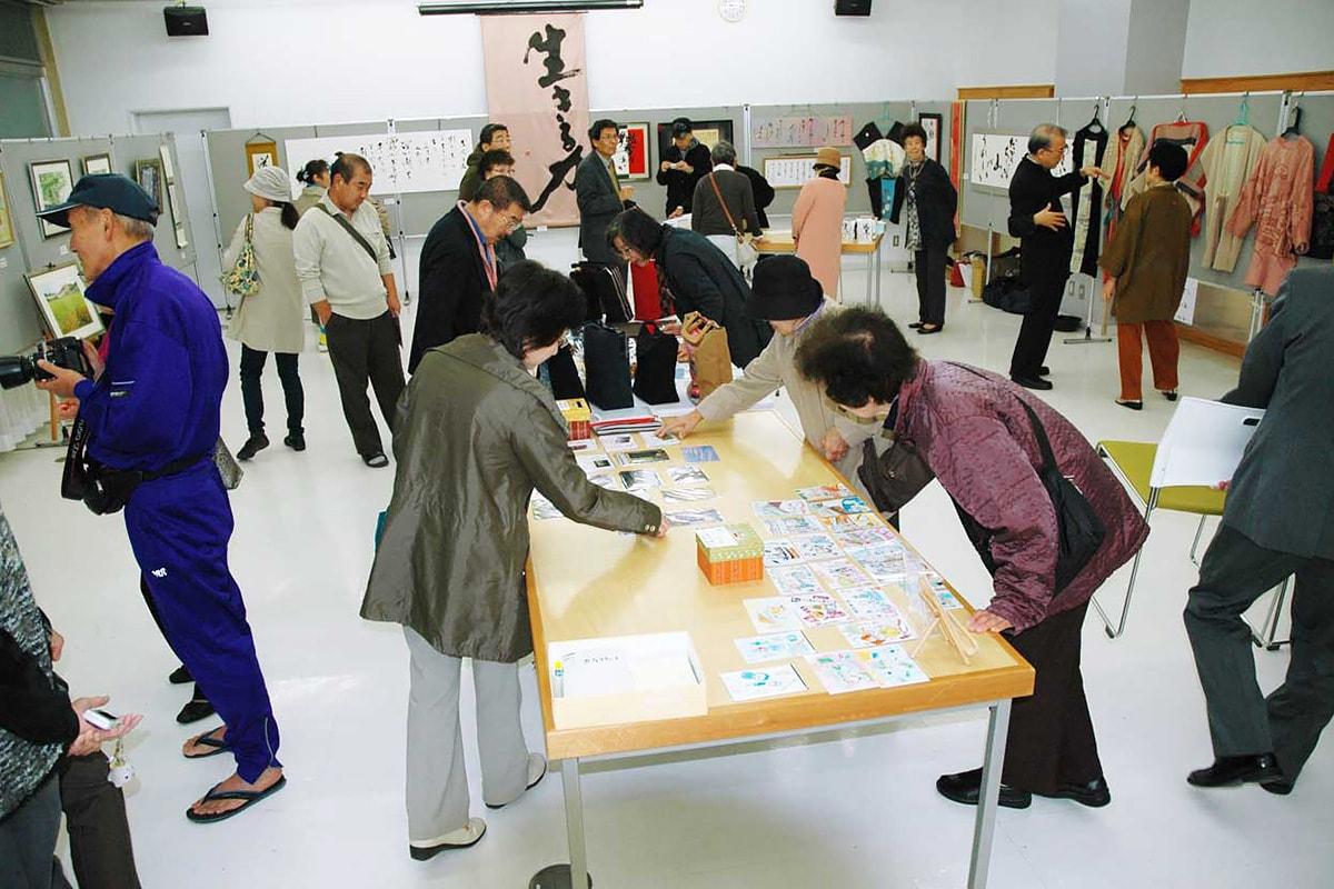 「釜南44展」の展示会場