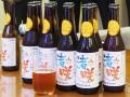 全国向けに販売する東北復興支援ビール「渚咲」