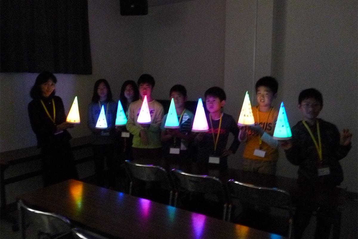 パナソニックキッズスクール LEDランタン工作教室