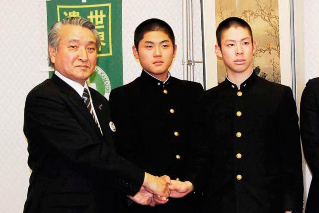夢舞台での勝利へ決意、センバツ出場の釜石高野球部