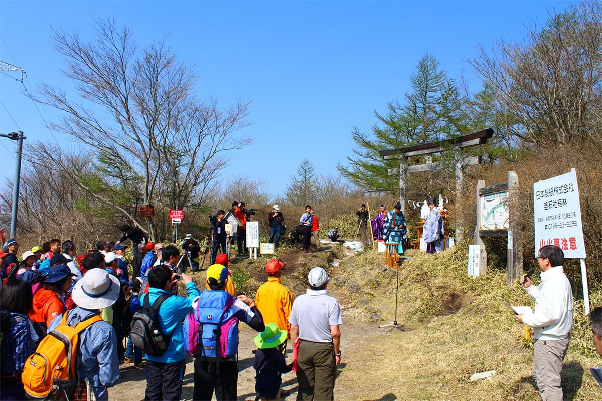 平成28年度五葉山の山開き(安全祈願祭)