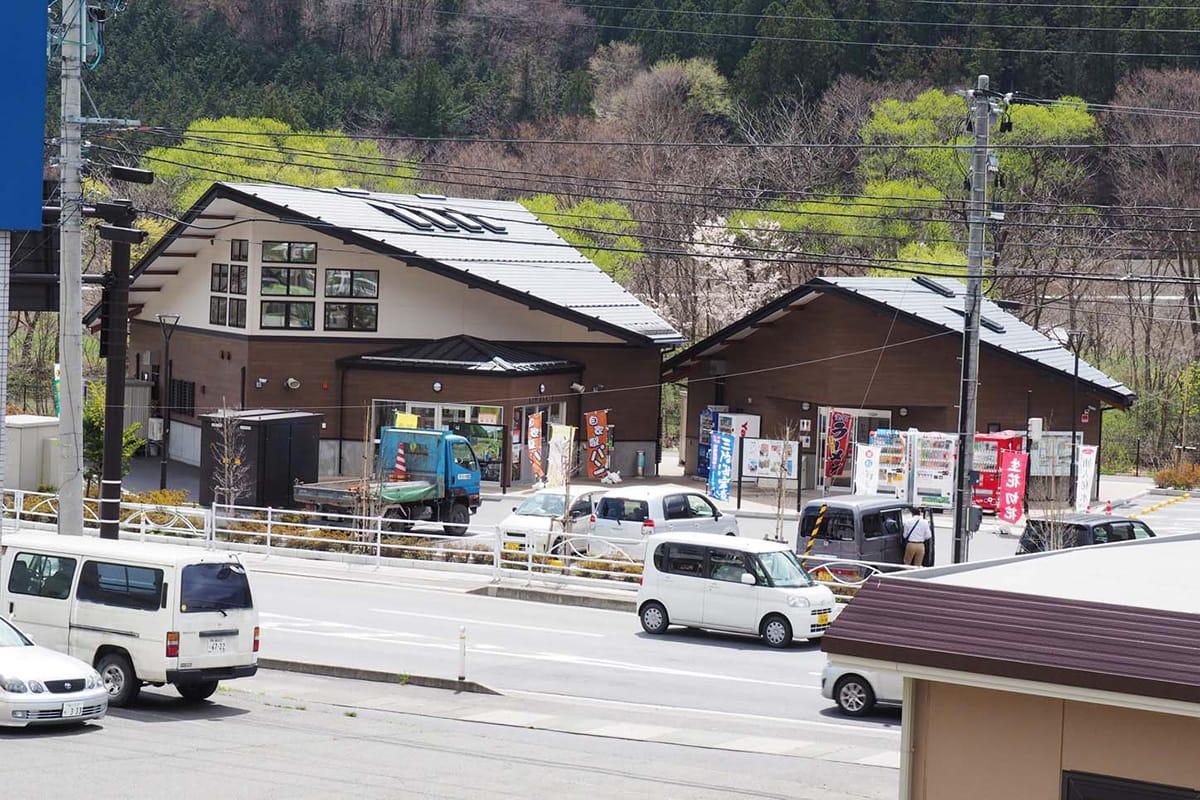 オープン1周年を迎える道の駅「釜石仙人峠」。