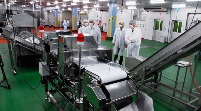 省力化、自動化が進んだ最新の製造ライン