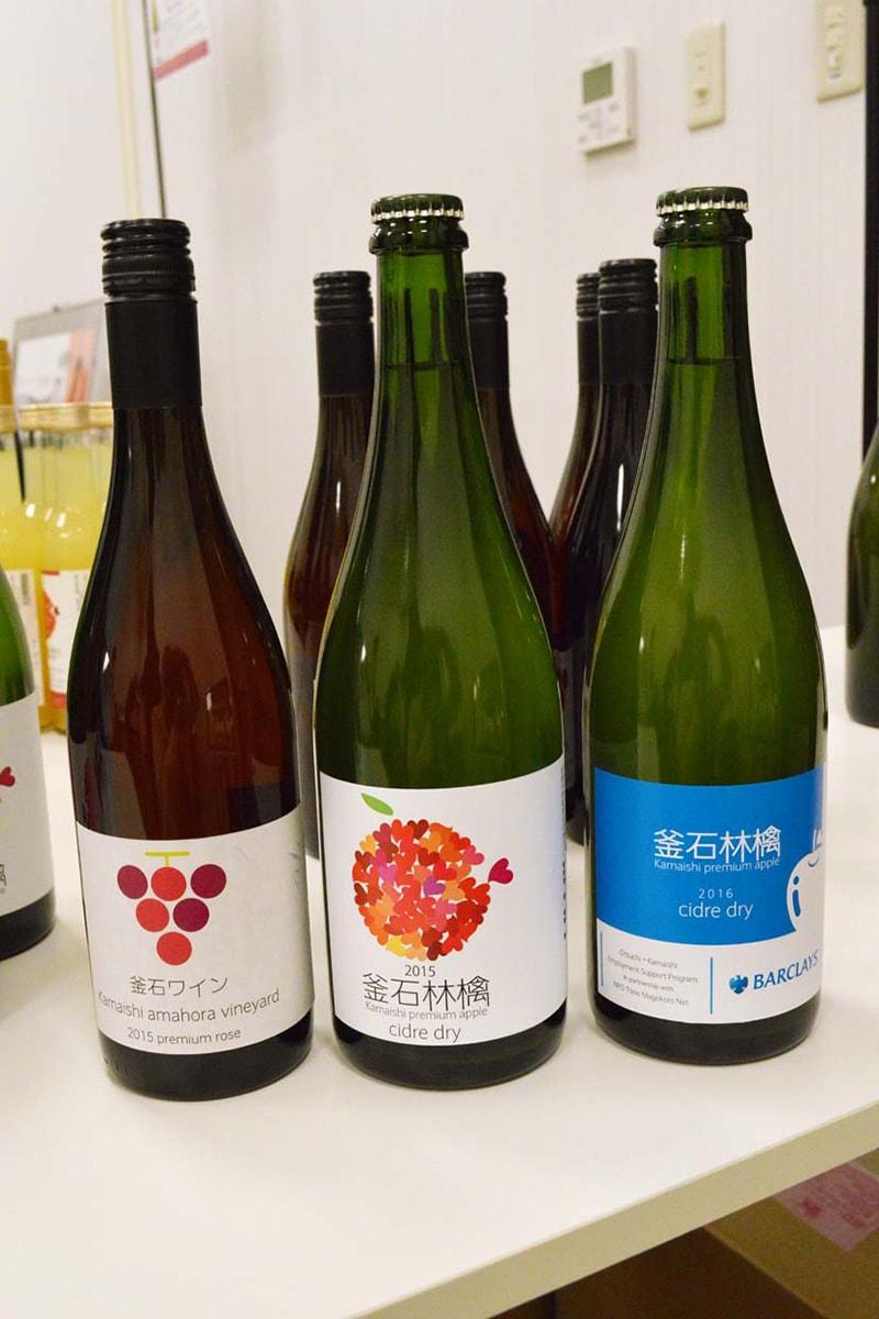 5月5日には林檎シードル2種も販売される