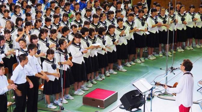 釜石中で開かれた「東北希望コンサート」