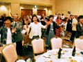最後に「釜石小唄」に合わせて踊る、はまゆり会の集い参加者