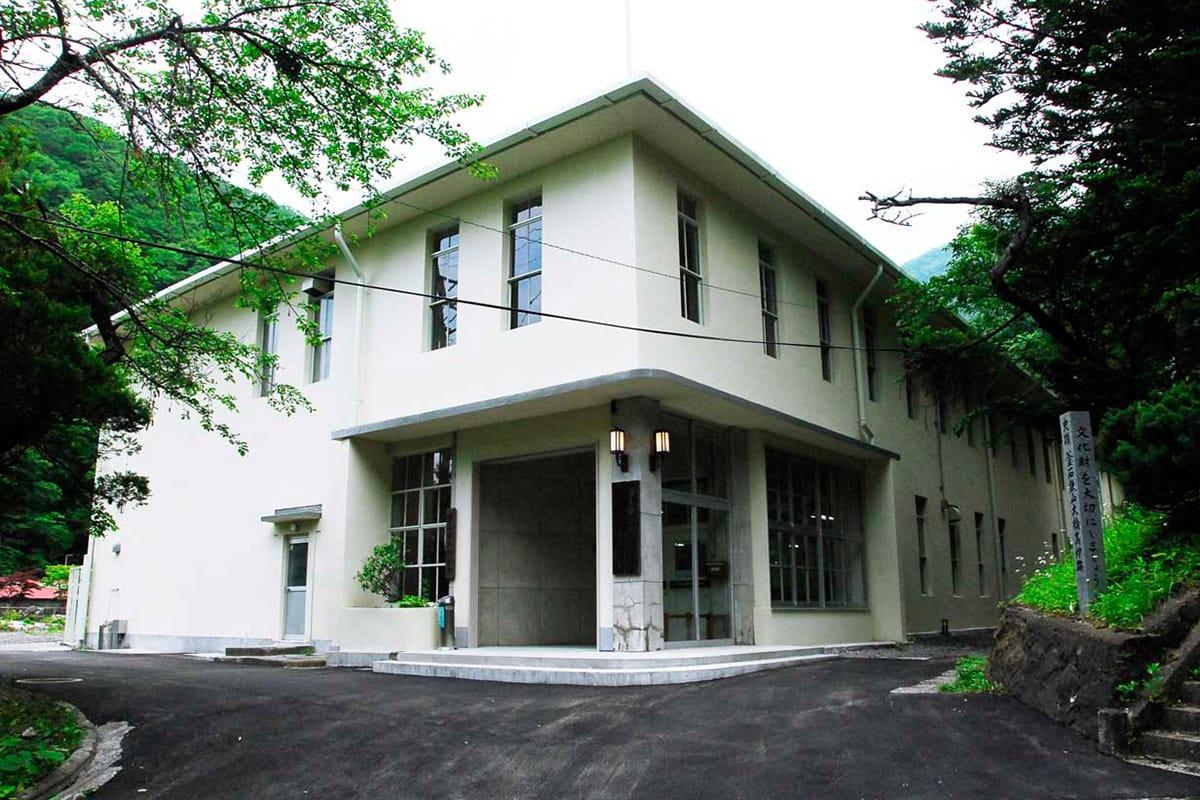 6月30日の一般公開再開を待つ旧釜石鉱山事務所