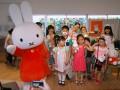 ファッションショーに出演した子どもたち
