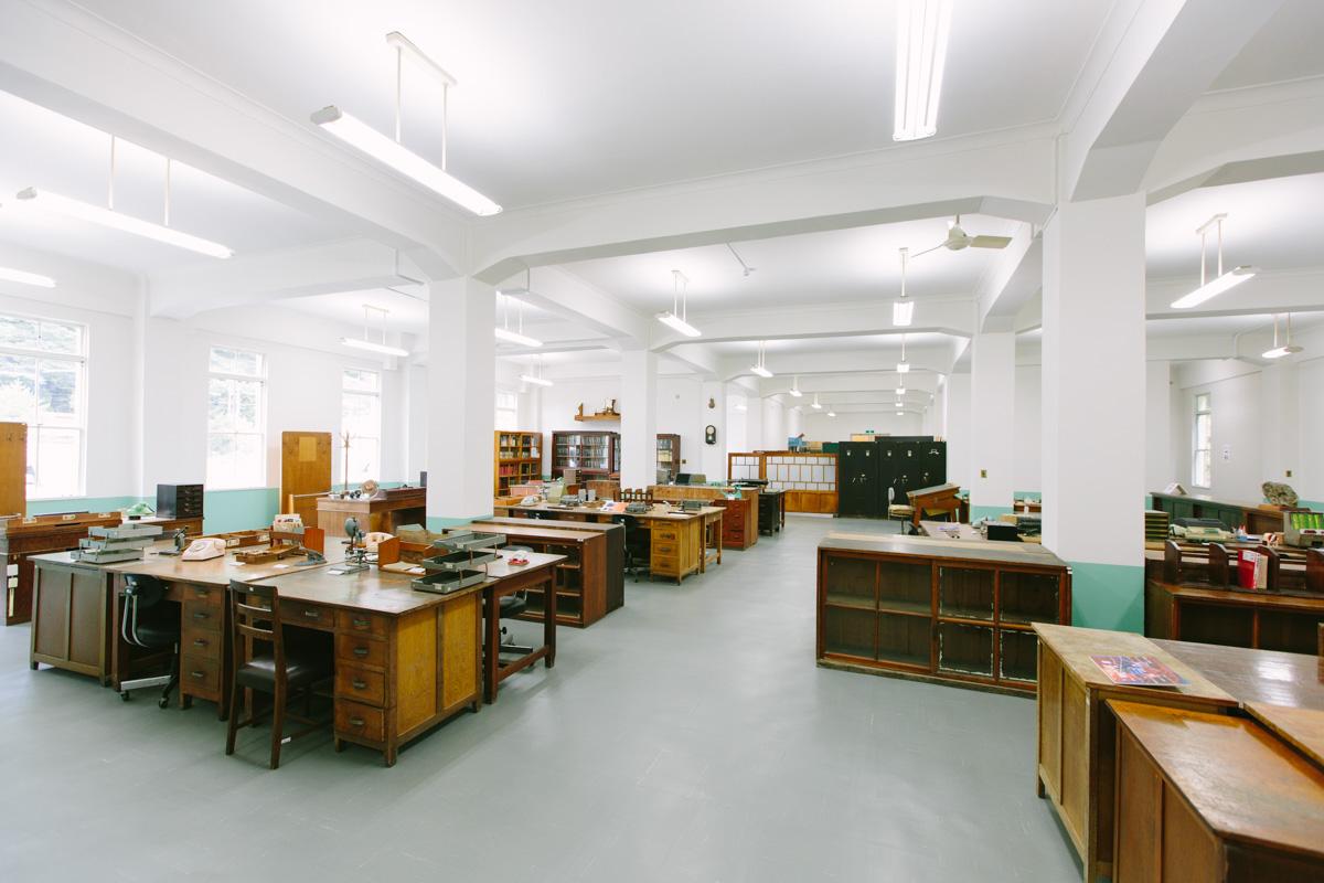 旧鉱山事務所