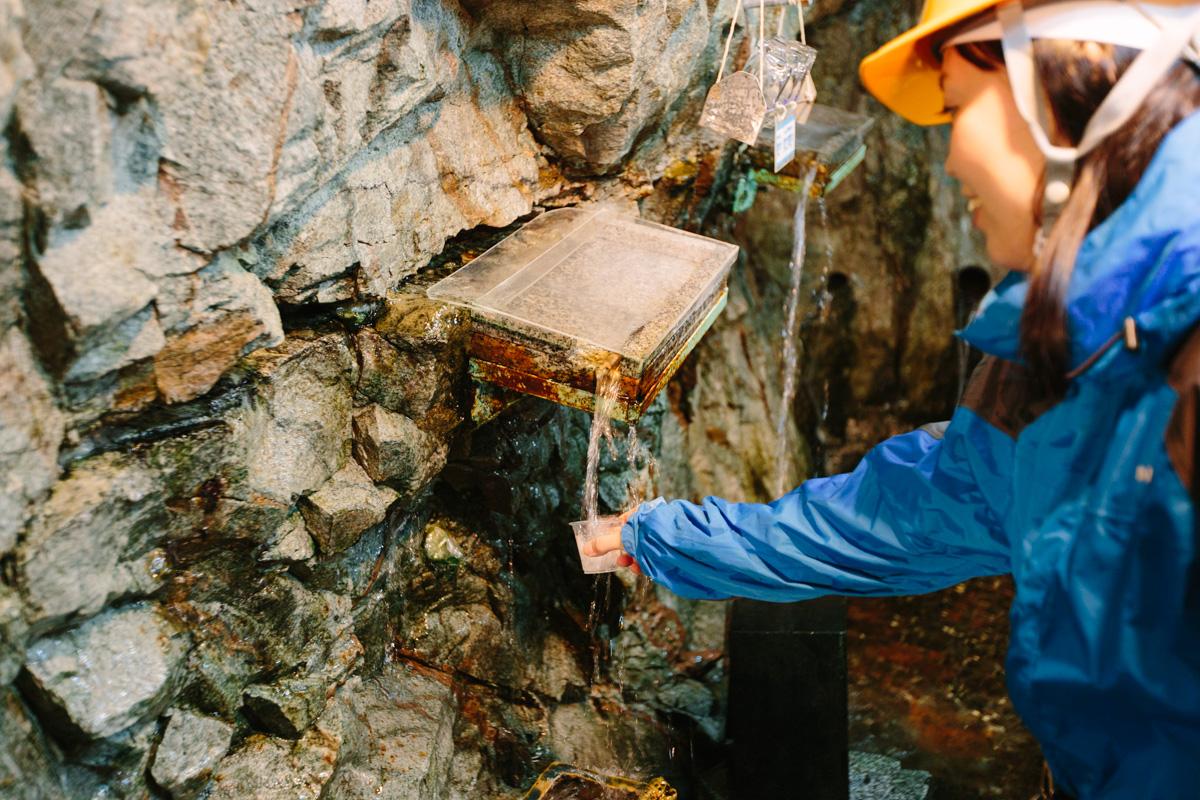 原水採水場