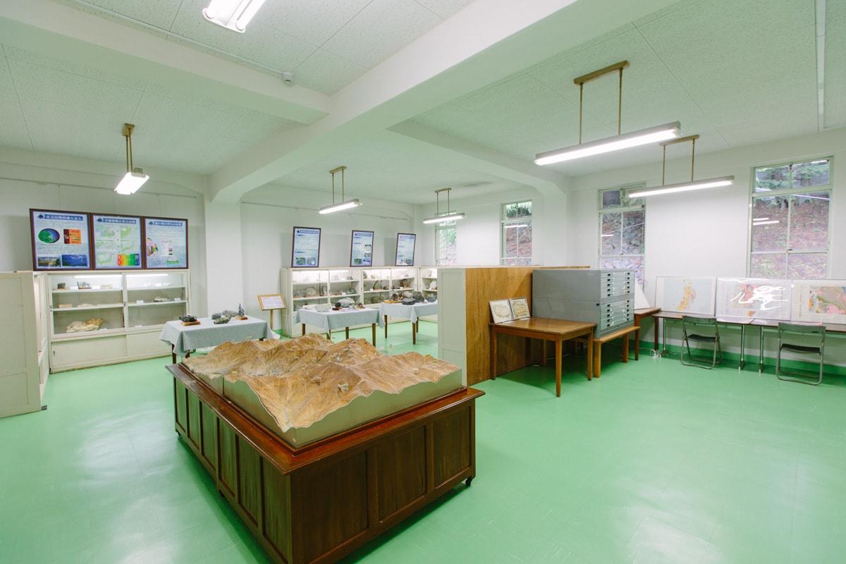 鉱山の資料室