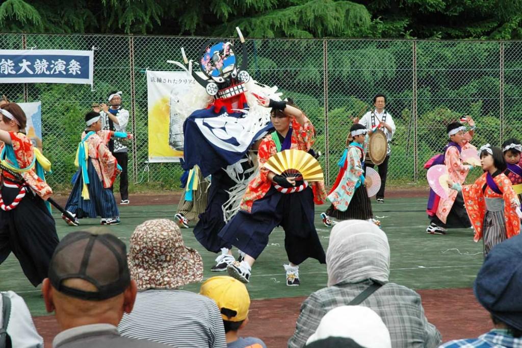 地元の誇り「橋野鹿踊り」で世界遺産を盛り上げる保存会のメンバー