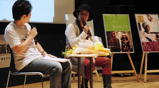 出演映画の撮影秘話や役柄について語る俳優、永瀬正敏さん