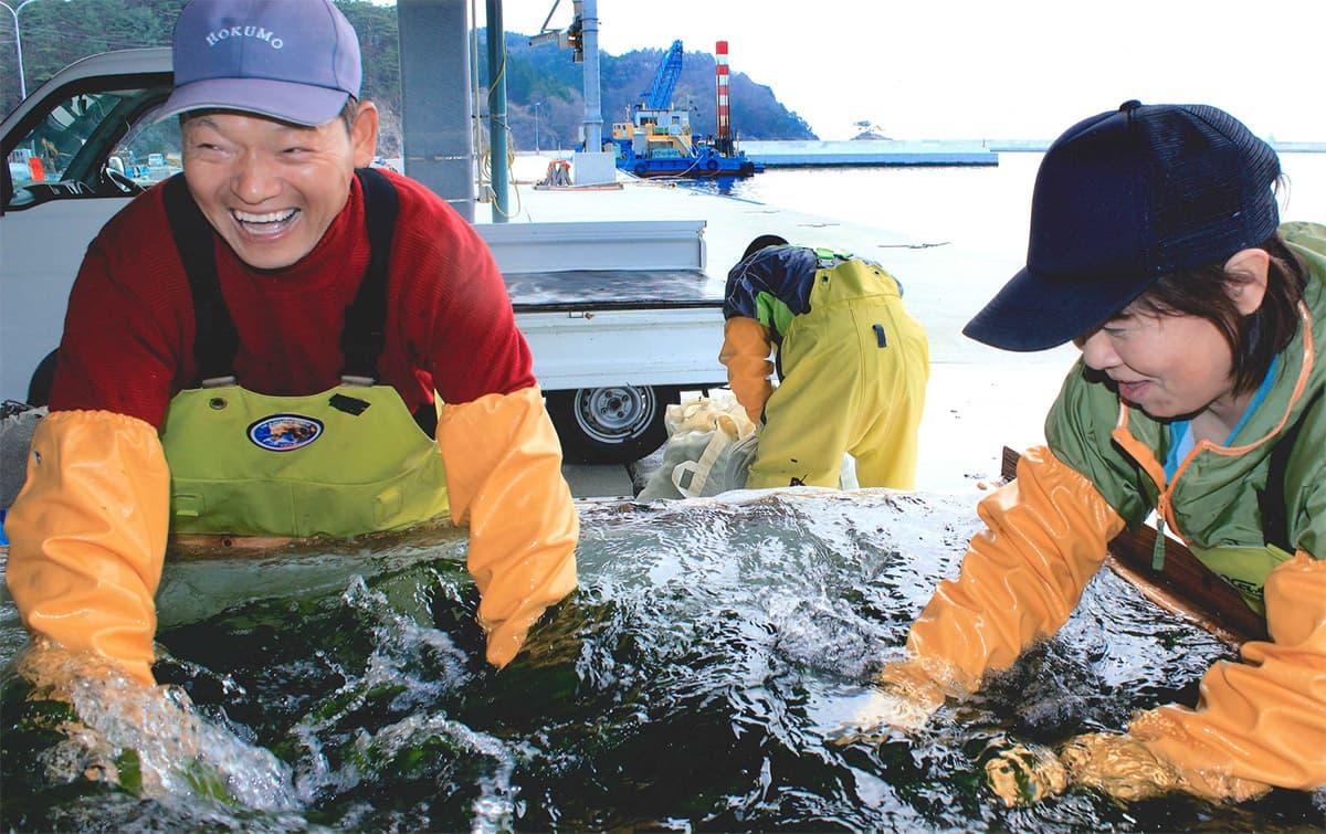 【金賞】 木村 明子さん出展 「浜の笑顔」