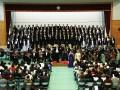 東日本大震災から6年連続で釜石高体育館を会場に開かれた「かまいしの第九」