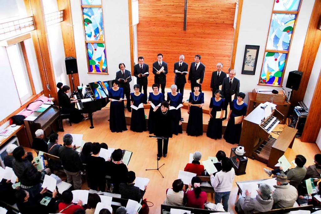 6年ぶりに定期演奏会を開いた釜石混声合唱団