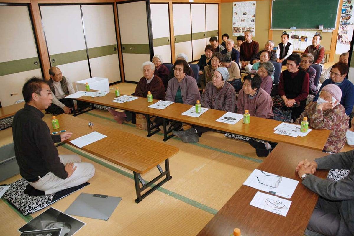 三浦命助について学んだ「橋野寿友の会」の地域歴史学習会