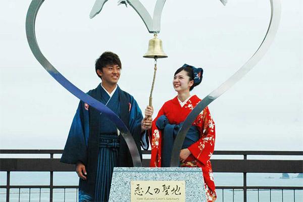 カップル(久保君と砂金さん)の開放的な様子が受賞につながった釜石市作品
