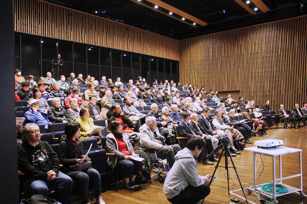 100人余りの東海市民が参加して開かれたラグビータウンミーティング