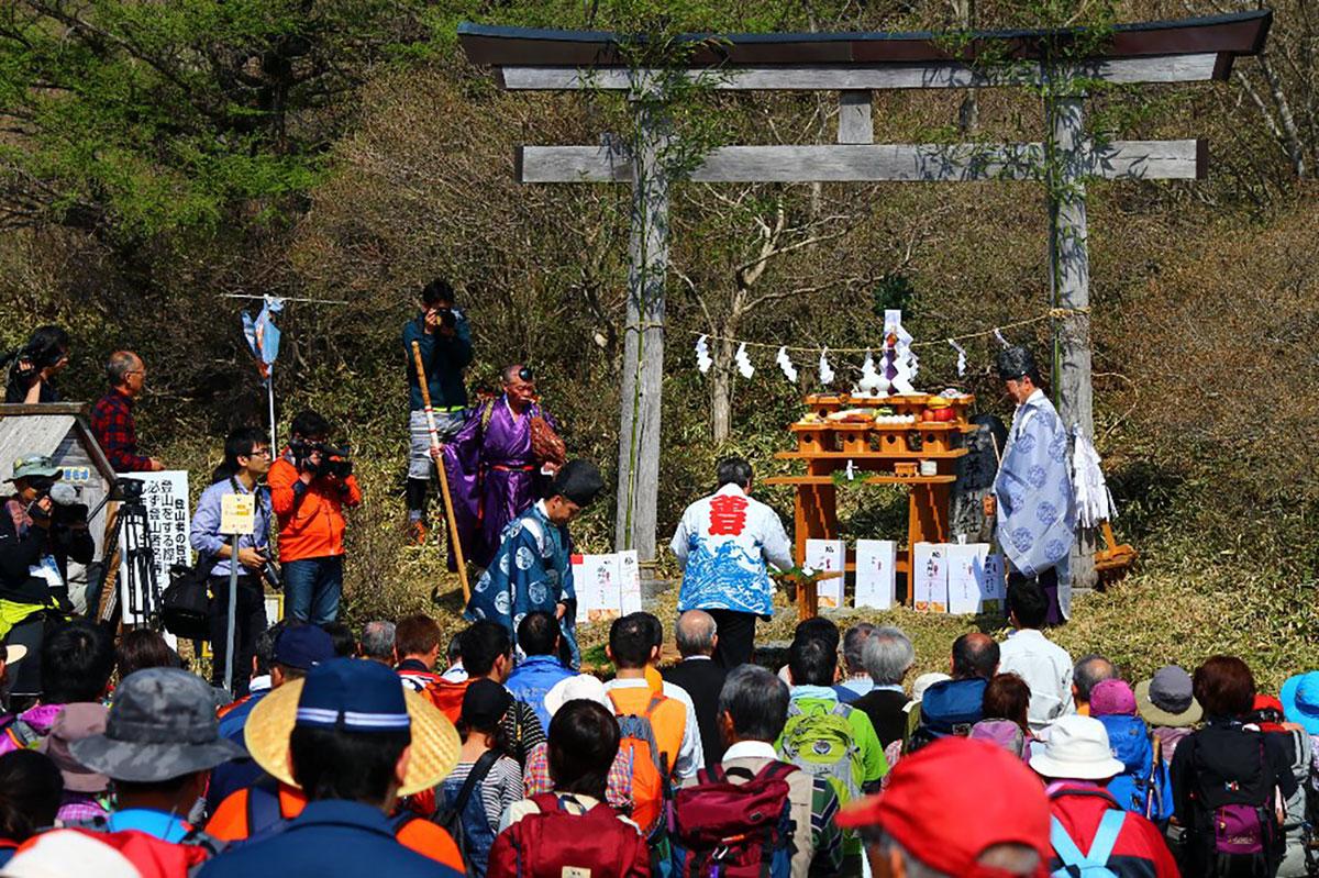 平成29年度五葉山山開き(安全祈願祭)