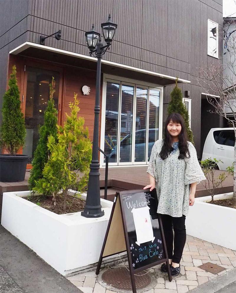 5月にオープンするカフェ「ブルーア・シエーロ」