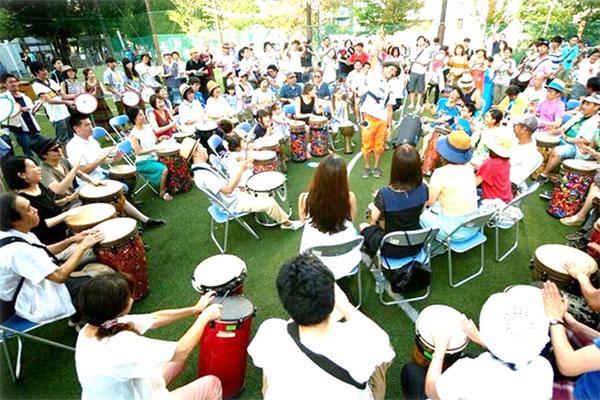 音楽でつながろう!釜石ドラムサークルファシリテーター育成講座