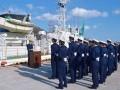 吉本部長は「海のつわもの」と呼び、解役を迎えた「きたかみ」との別れを惜しんだ