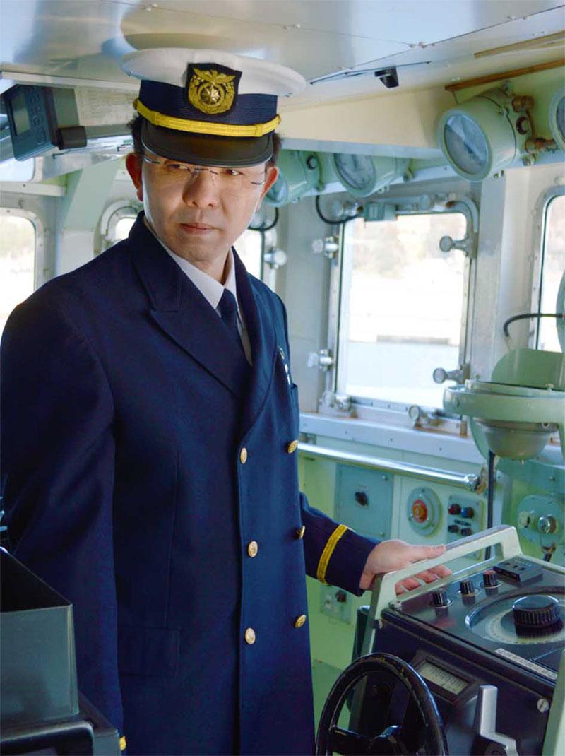 船橋で大津波からの脱出を語る佐渡さん