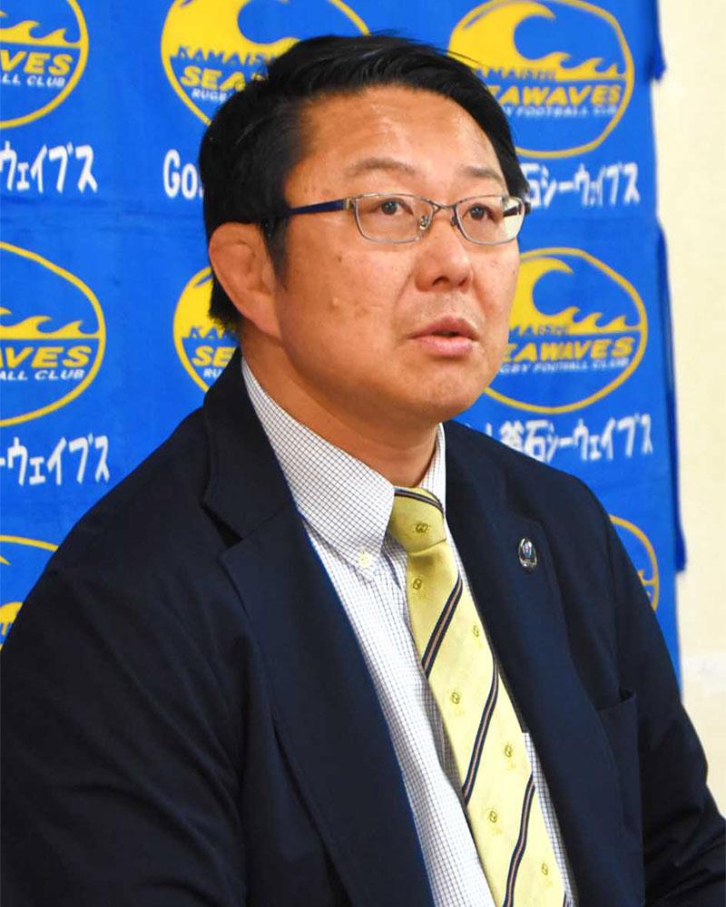 13季ぶりに現場に復帰、監督としてチームの飛躍に挑むことになった桜庭吉彦氏