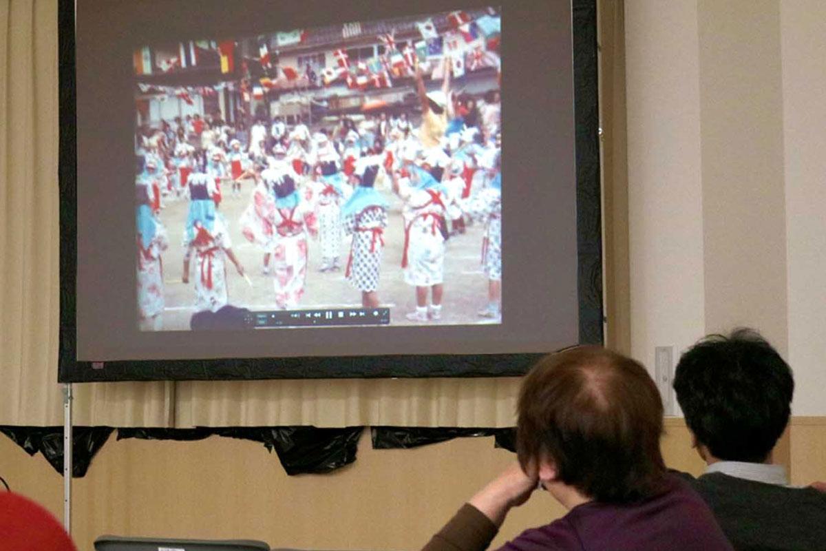 衣装も時代を感じさせる鵜住居保育園の運動会映像